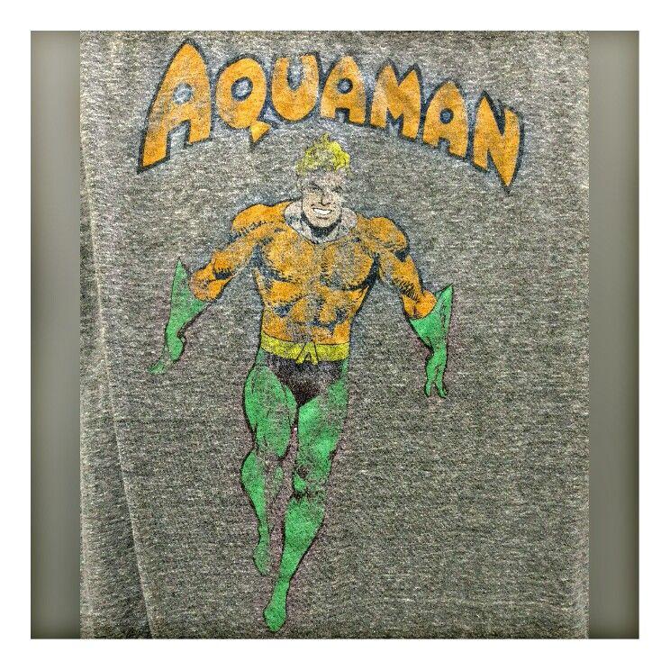 Aquaman Tshirt Printed Shower Curtain Aquaman Prints