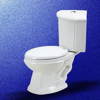 Corner Elongated White Dual Button Flush Bathroom Toilet Grade A Porcelain Renovators Supply Manufacturing Corner Toilet Toilet For Small Bathroom Toilet