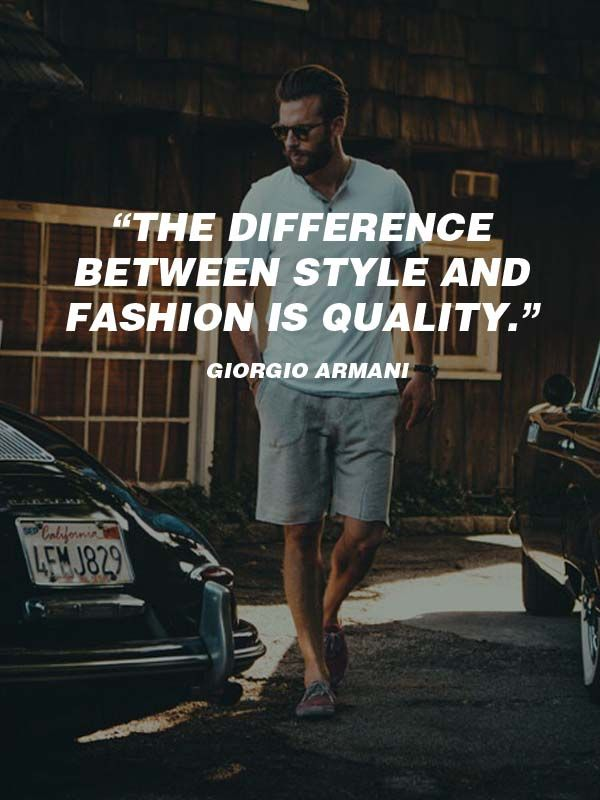 20 Best Men\u0027s Fashion Quotes To Step Up Your Instagram