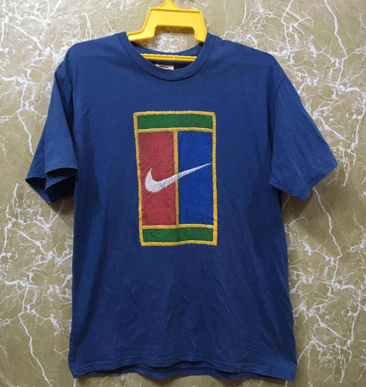 Vintage Stussy Small Logo Checkers Sweatshirts L Size Etsy Court Shirt Nike Tennis Blue Color