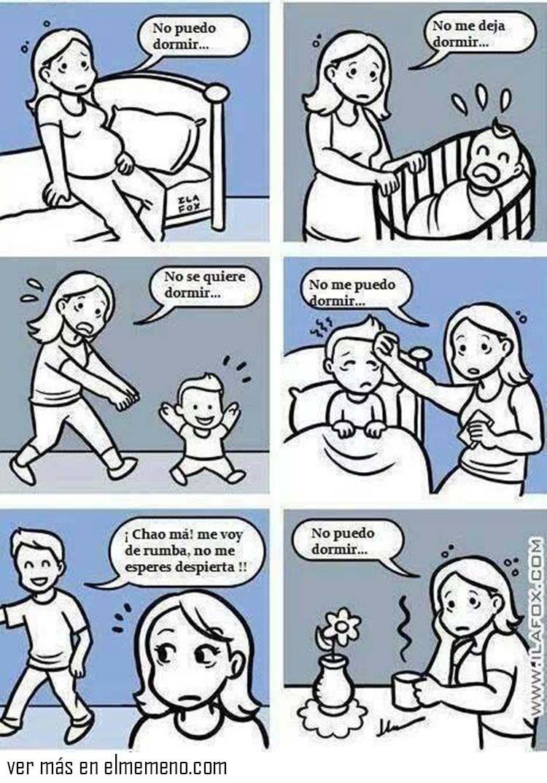 El Amor De Madre Lo Puede Todo I Cant Sleep Mom Humor Cant Sleep