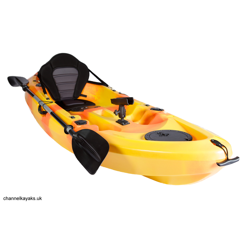 The Channel Kayaks Bass In Orange And Yellow Want To Be