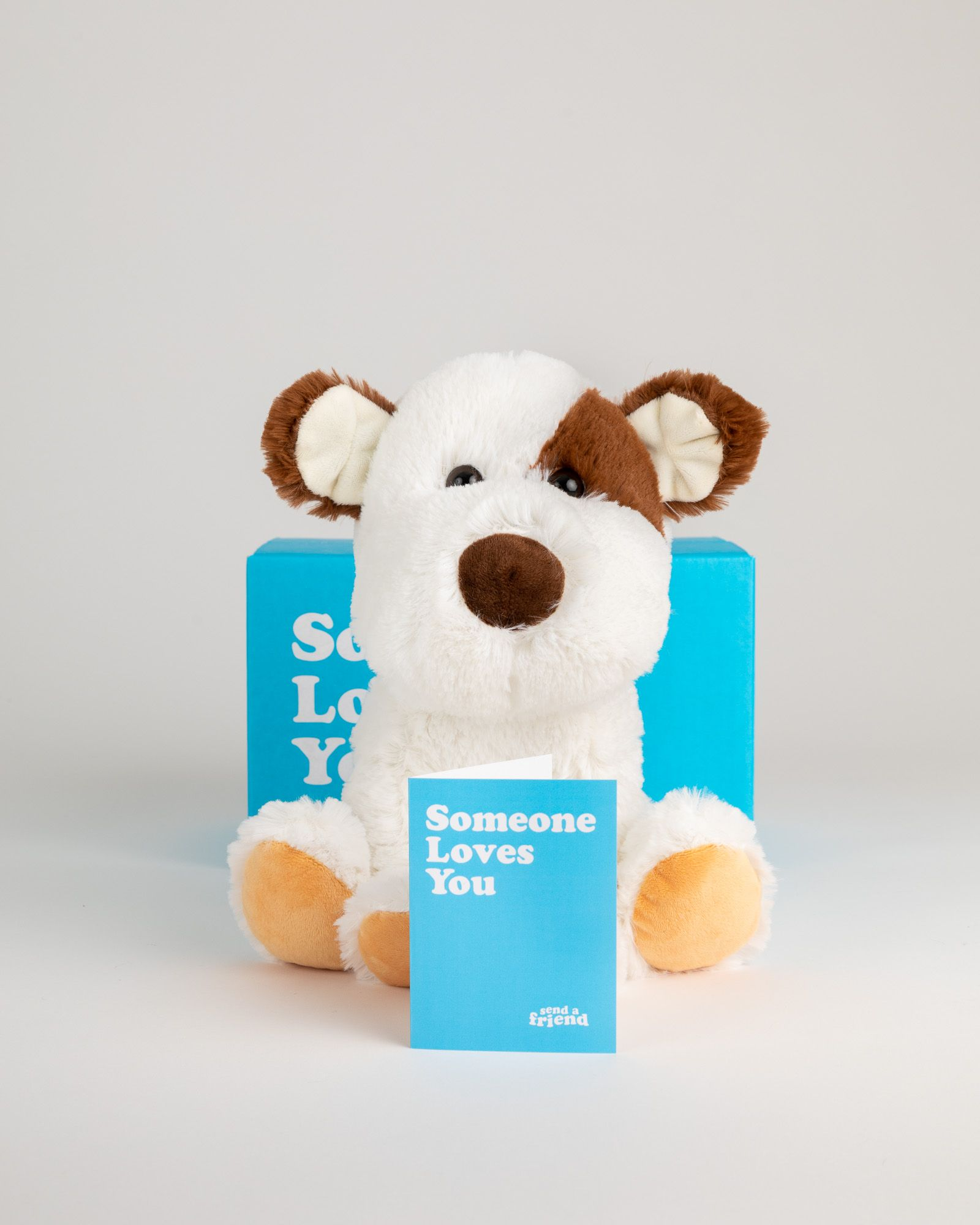 Peanut the Puppy Send a stuffed animal care package! in