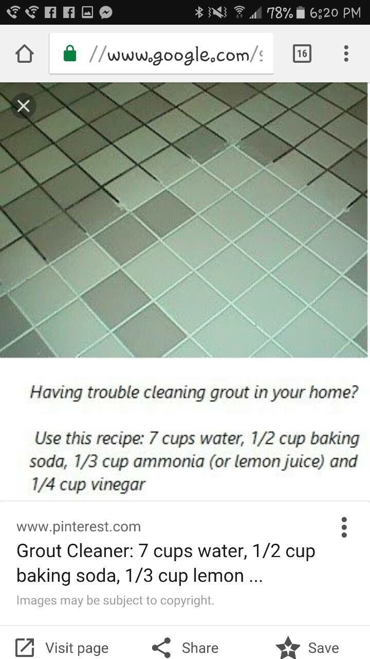 Fix It Grout Cleaner Homemade Cleaning Products Cleaning Hacks