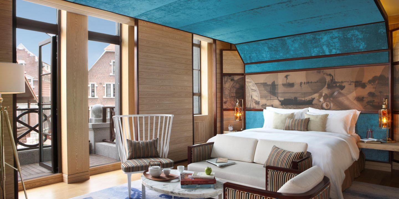 Maritime Inspiration And Vibrant Decor At Hotel Indigo Tianjin