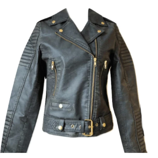 Buy Best Sustainable Wbpu Leather Biker Water Based Pu Not Plastic Based Faux Leather Or Vegan Leather Vegan Leather Jacket Sustainable Leather Vegan Leather