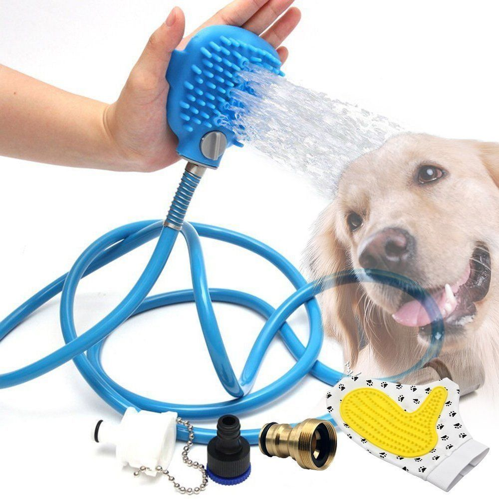 Portable Bath Hose Pet Dog Cat Washing Grooming 8 Feet Massage