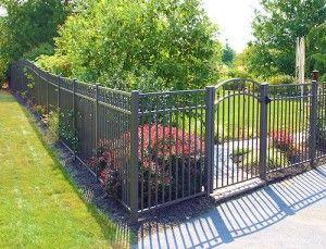 Aluminum Fencing For The Home Pinterest Aluminum