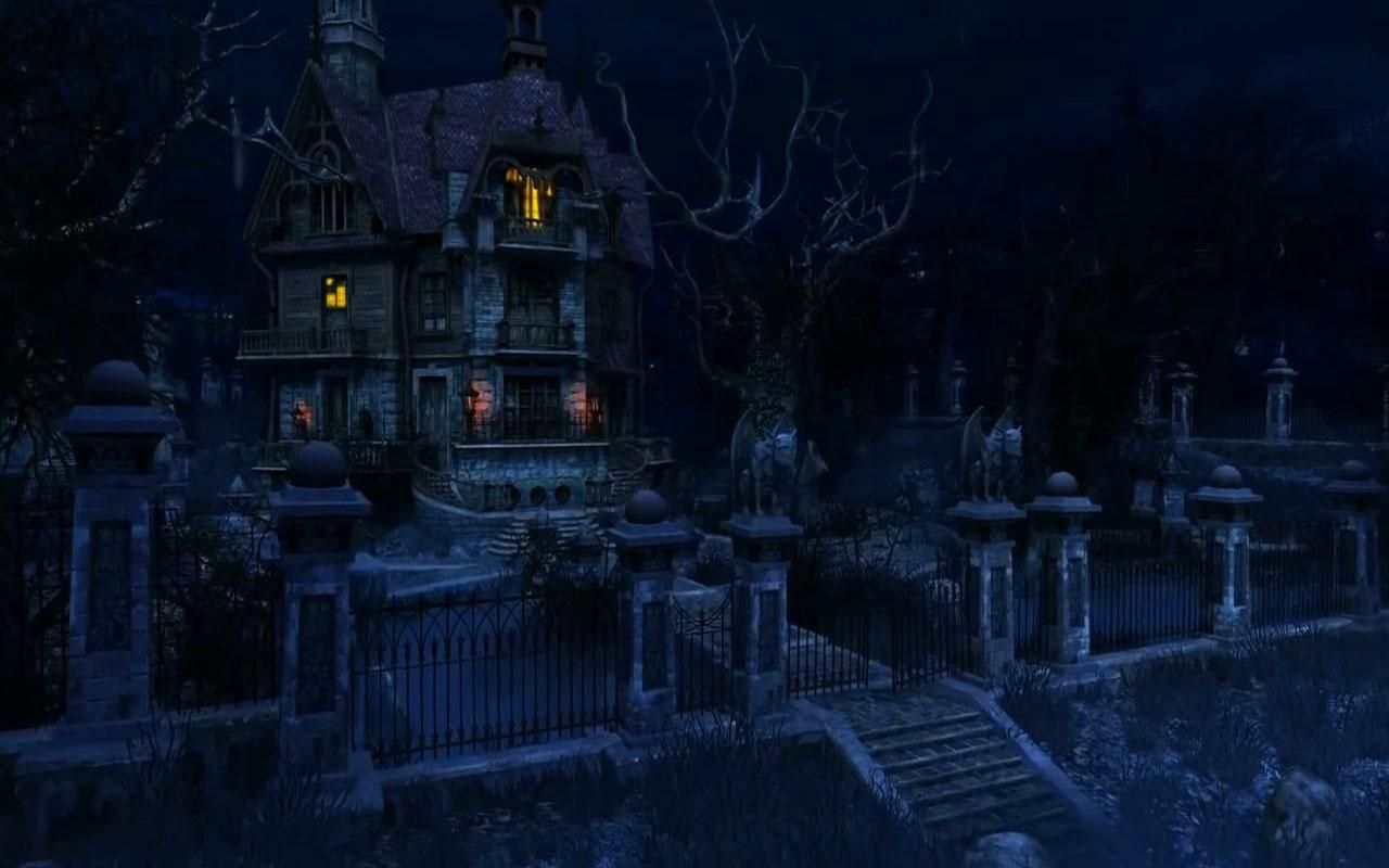 Haunted House Live Wallpaper Wallpapers Moonlight Scenery Landscape Nature