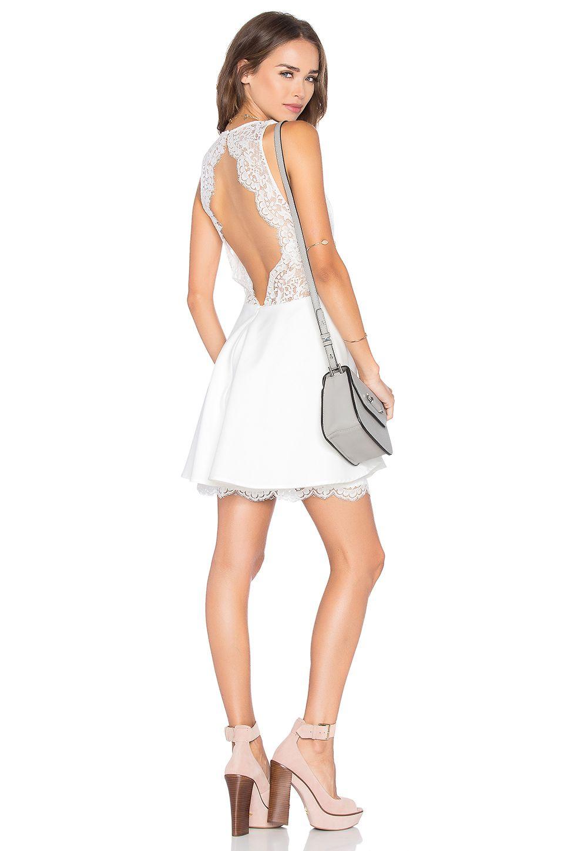 NBD Paradisco Mini Dress in Cream Yellow | REVOLVE | Mini