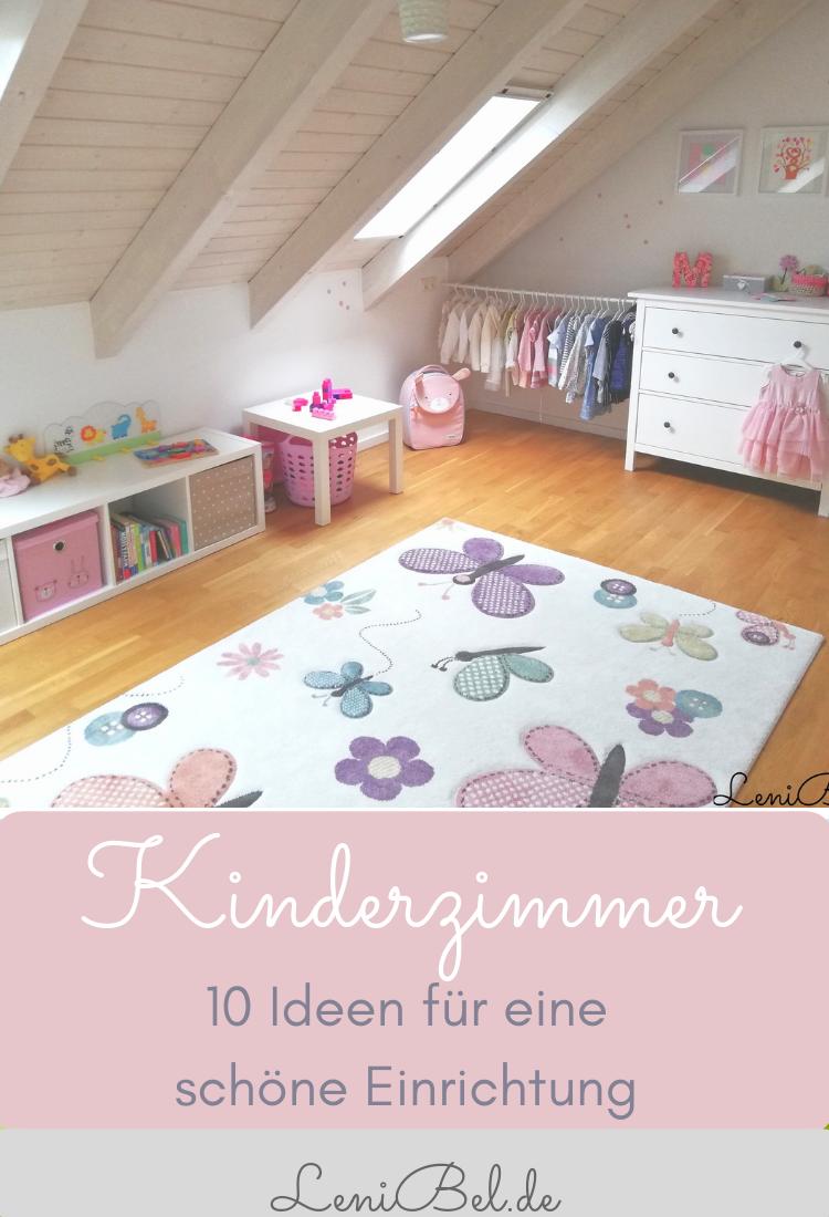 Kinderzimmer einrichten - 10 Tipps und Ideen für die Gestaltung #kinderzimmermädchen