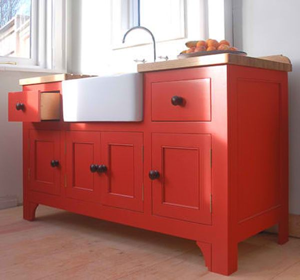 Amazing Red Free Standing Kitchen White Sink Cabinets Free Standing Kitchen Sink Freestanding Kitchen Free Standing Kitchen Cabinets
