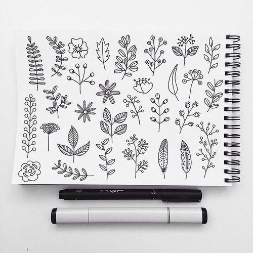 Imagen de art, drawing, and flowers