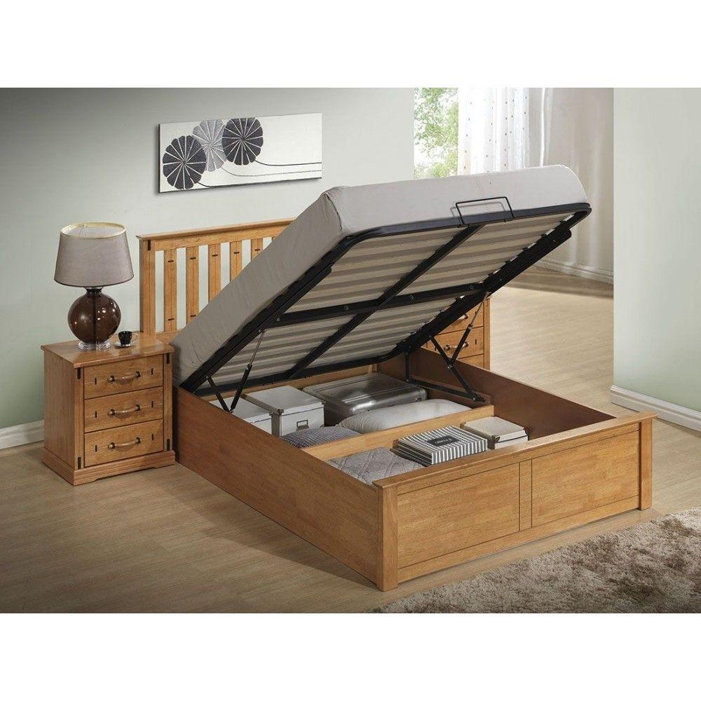 Stanley Wooden Storage / Ottoman Wooden Beds Frames