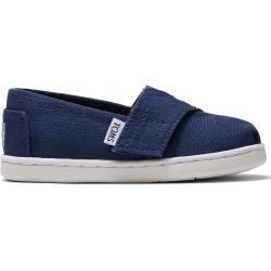 Photo of Zapatos Toms Dark Blue Canvas Classics 2.0 para niños pequeños – talla 23.5 TomsToms
