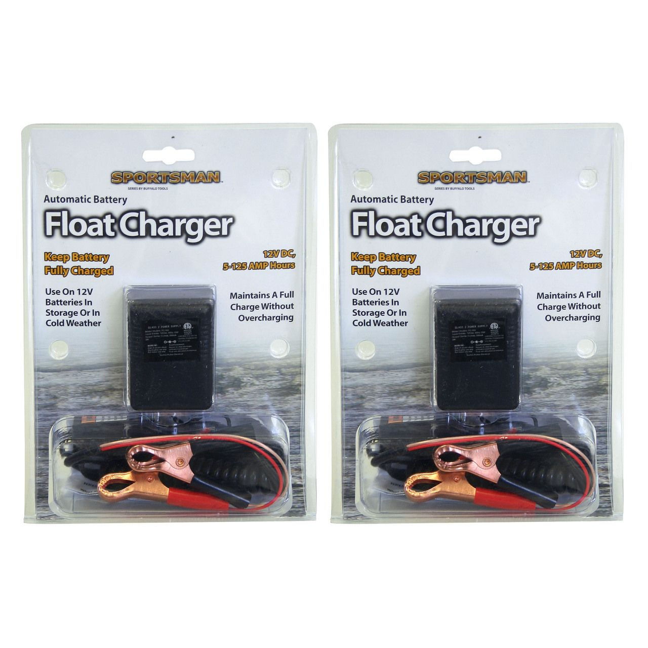Sportsman Series Bfc8794 2 Piece Automatic Battery Float Charger Charger Car Battery Charger Solar Battery Charger