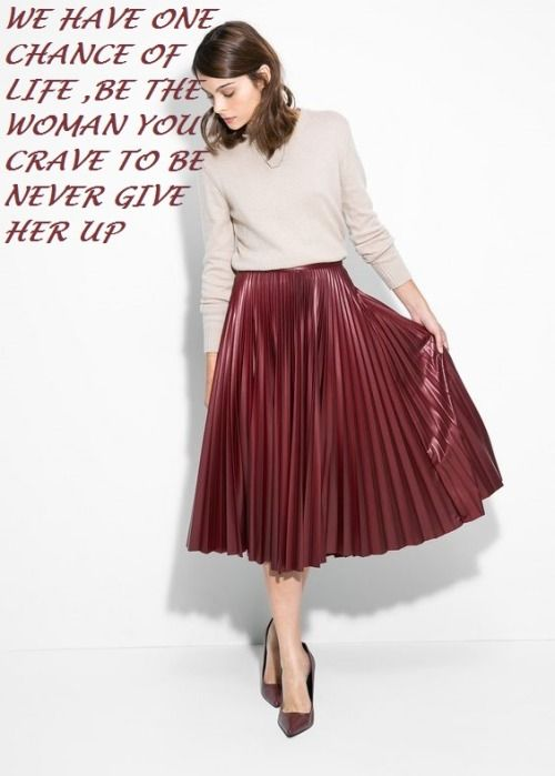 271036069 Maxi pleated skirt | Fashion in 2019 | Pleated skirt outfit, Fashion ...