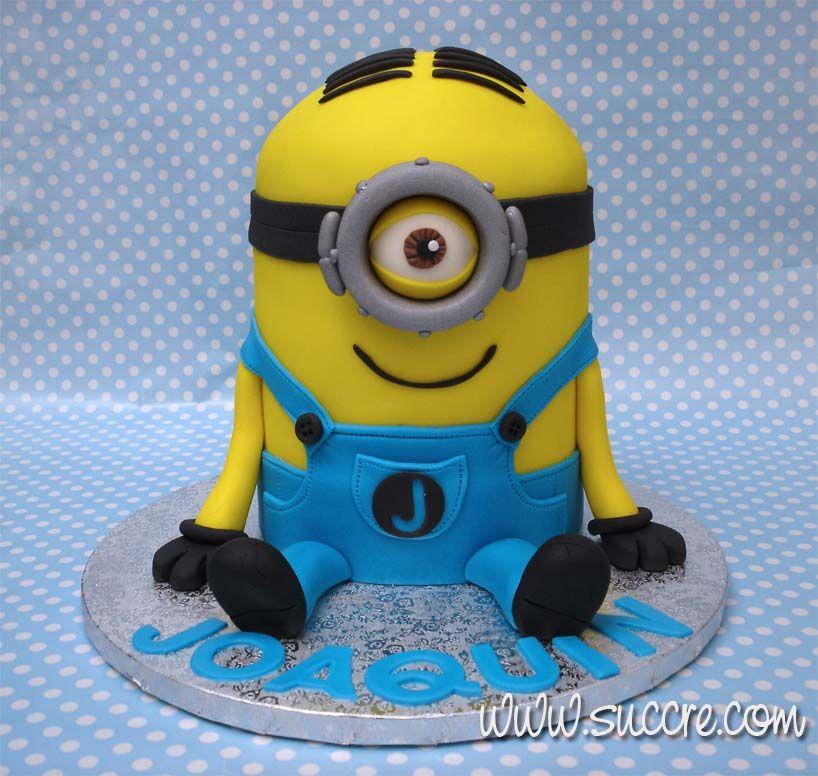 Cake Tarta Minion Stuart