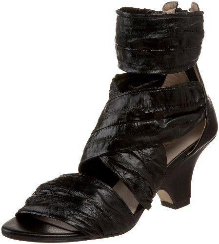 $187.00-$187.00 All Black Women's Eel Wrapper Ankle-Wrap Sandal,Black,39.5 EU/9 M US -  http://www.amazon.com/dp/B004EHVT4Q/?tag=icypnt-20