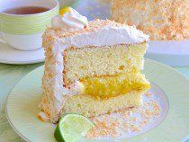 Coconut Lime Marshmallow Cake - http://www.rockrecipes.com/coconut-lime-marshmallow-cake/
