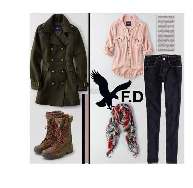 Untitled #145 by qroxp on Polyvore featuring polyvore, fashion, style and American Eagle Outfitters