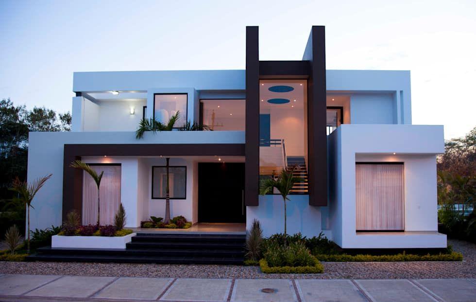 Maisons de style moderne par camilo pulido arquitectos villa modern house plans also arctec arctecml on pinterest rh