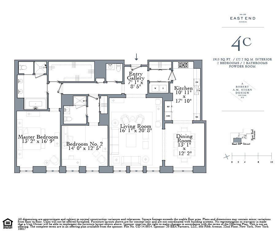 Streeteasy 20 East End Avenue In Upper East Side 4c Sales Rentals Floorplans Streeteasy Floor Plans Floor Plan Drawing Apartment Floor Plans