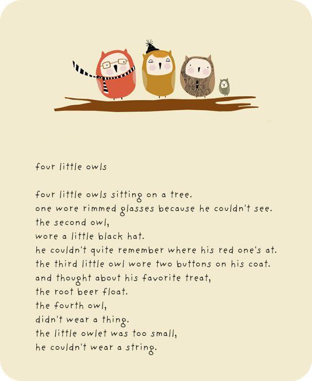 Four Little Owls | Owls | Pinterest | Boys, My boys and Style