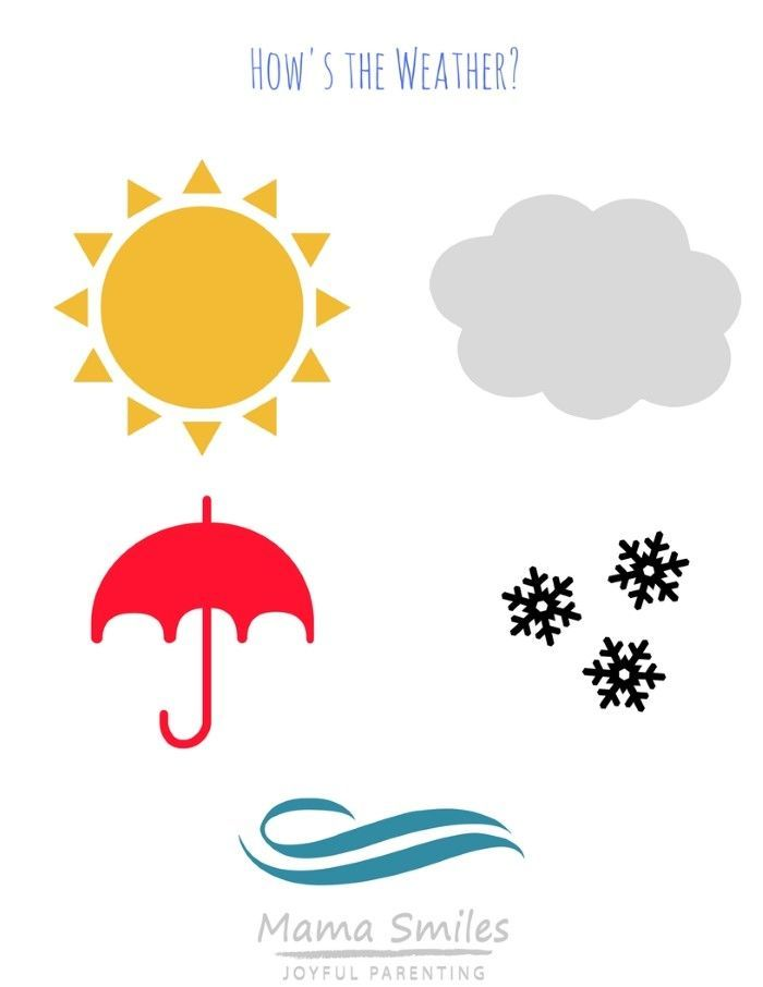 Kids will love graphing the weather using these free, easy-to-use weather tracking printables for preschool scientists! via @mamasmiles