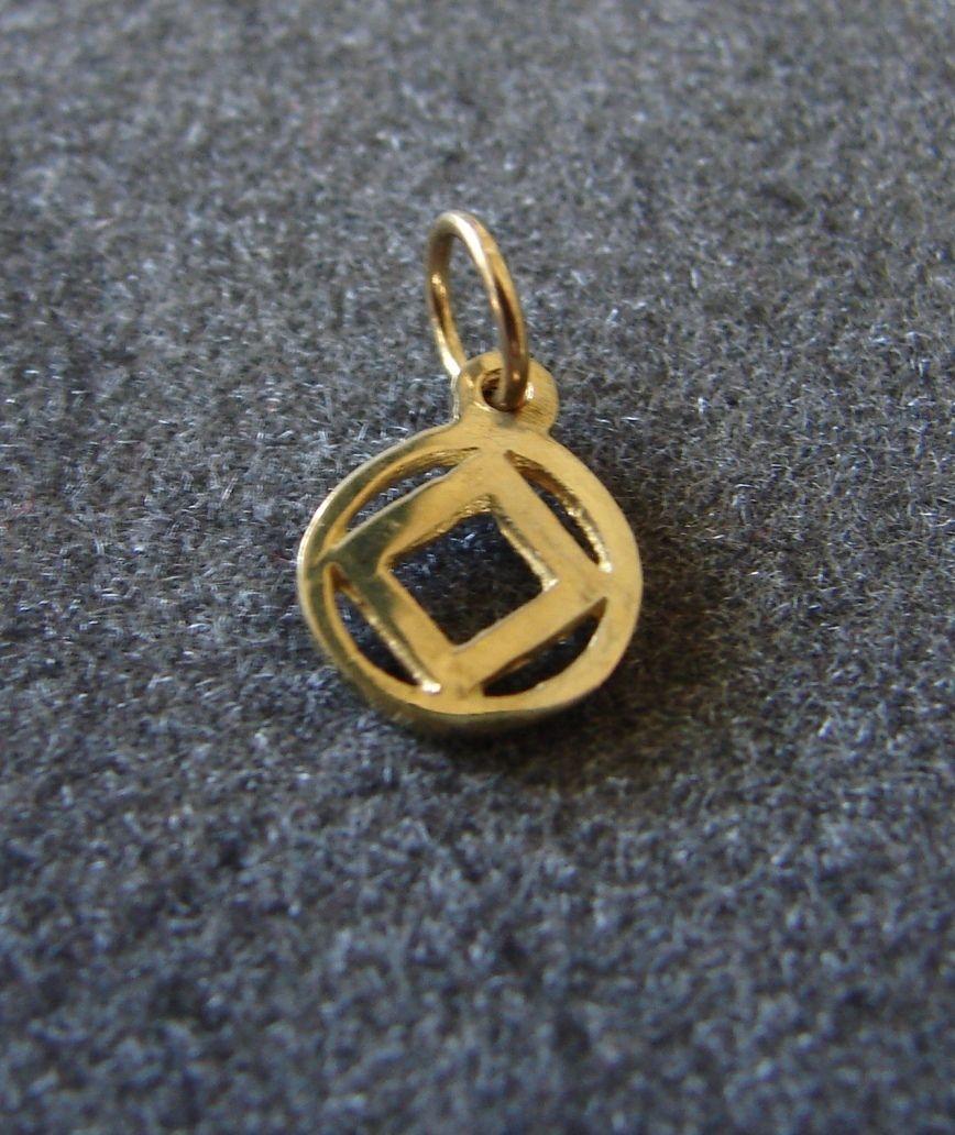 14k gold narcotics anonymous na symbol 38 pendant 12 step jewelry 14k gold narcotics anonymous na symbol 38 pendant 12 step jewelry necklace aloadofball Image collections