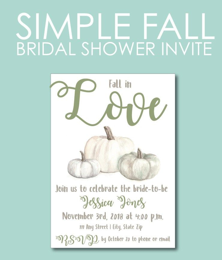 green and white fall bridal shower invite plan the perfect bridal shower with our planning tips theme ideas and invites shop bridal shower games guests