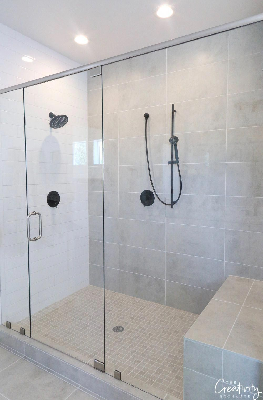 Master Bathroom Large Walk In Shower Walkinshower