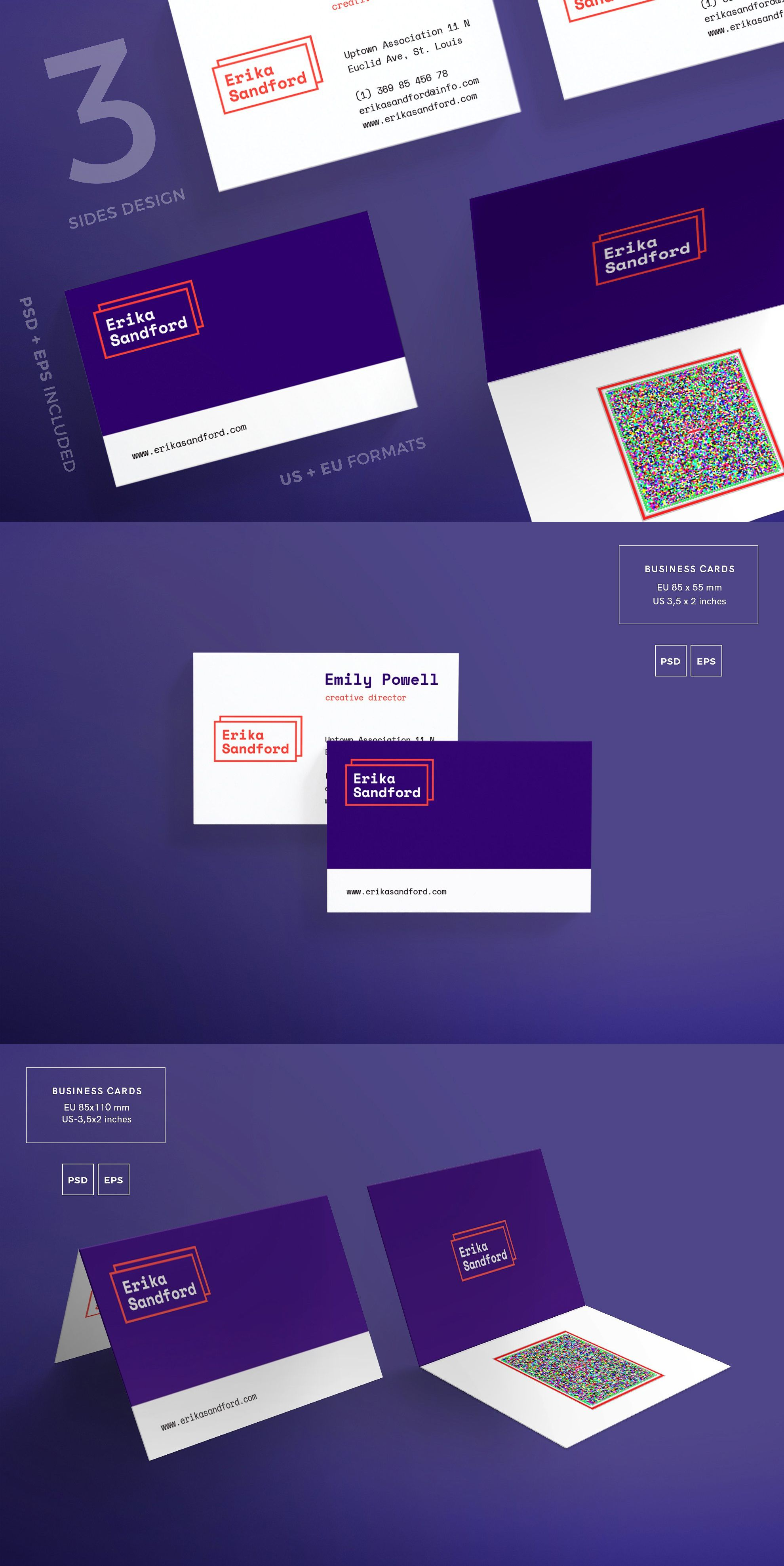 Business cards fashion style business cards card templates business cards template fashion style psd eps accmission Gallery