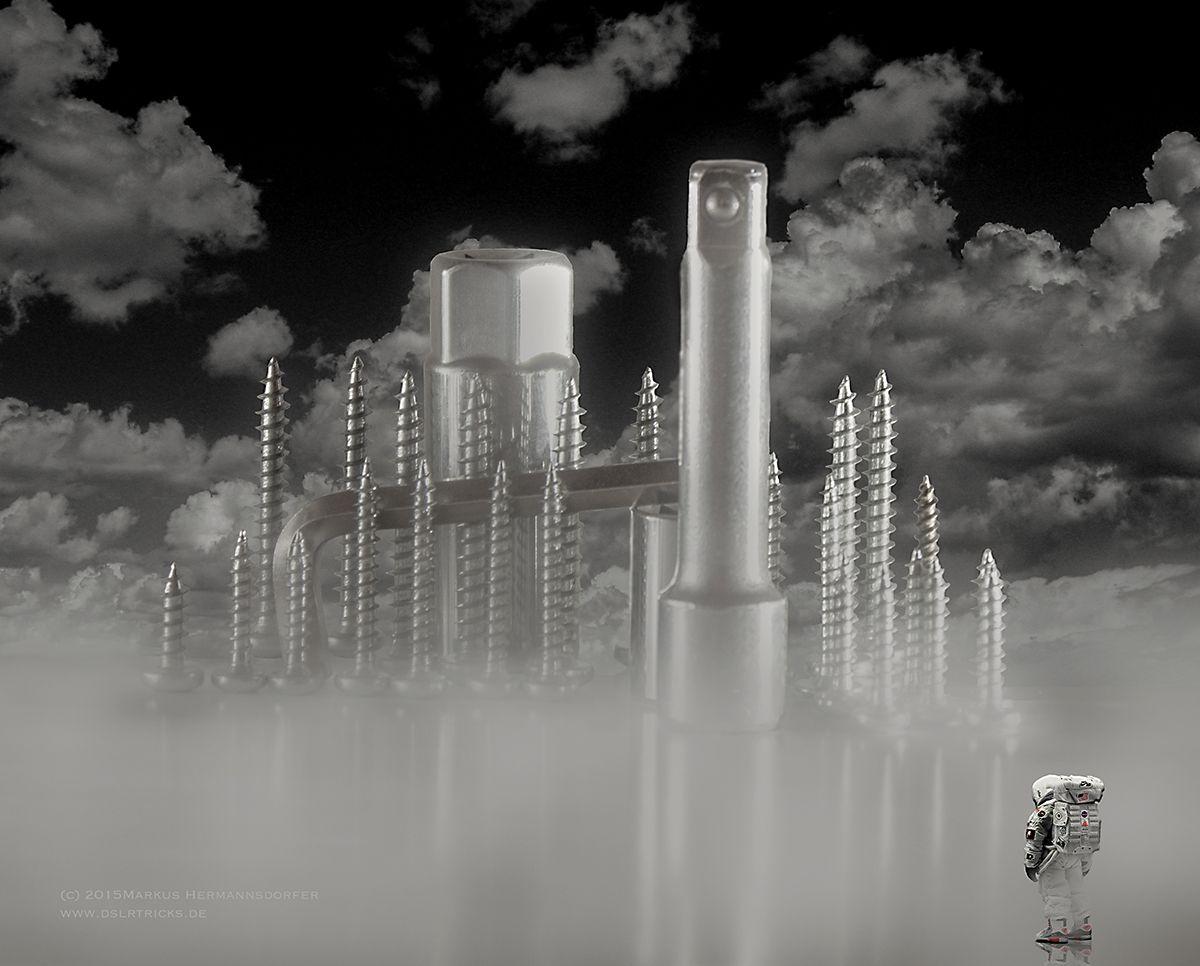 DSLRtricks: Eine Stadt aus Schrauben fotografieren