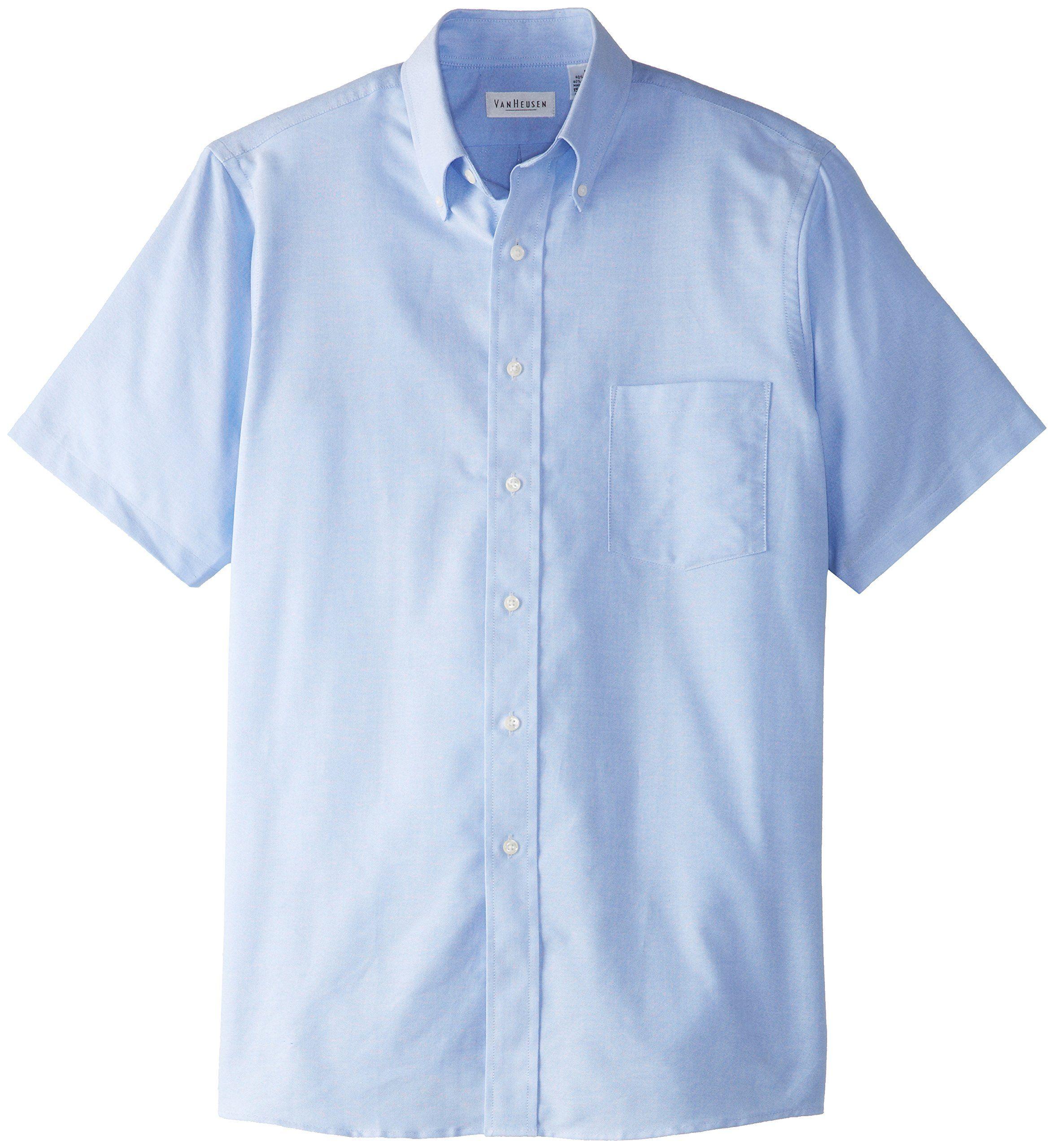 b157a69cb7a Van Heusen Men s Short Sleeve Oxford Dress Shirt