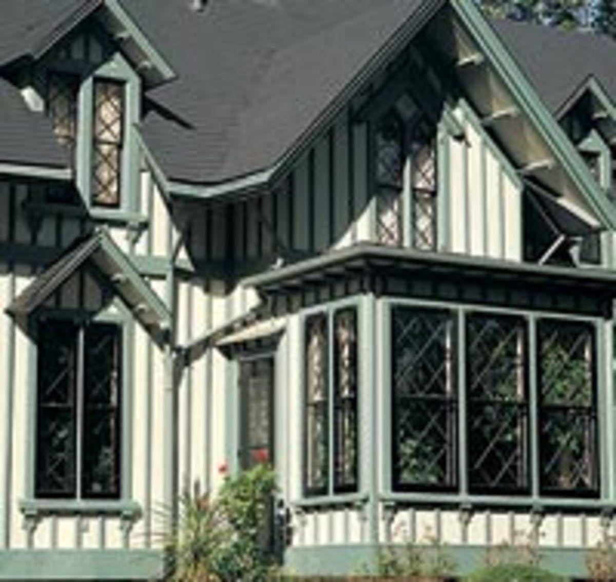 Cedar Board And Batten Siding Ontario Windowsmade By Hoffmeyer S As Was The Board Batten Cedar Homes Cedar Vinyl Siding Board And Batten Exterior