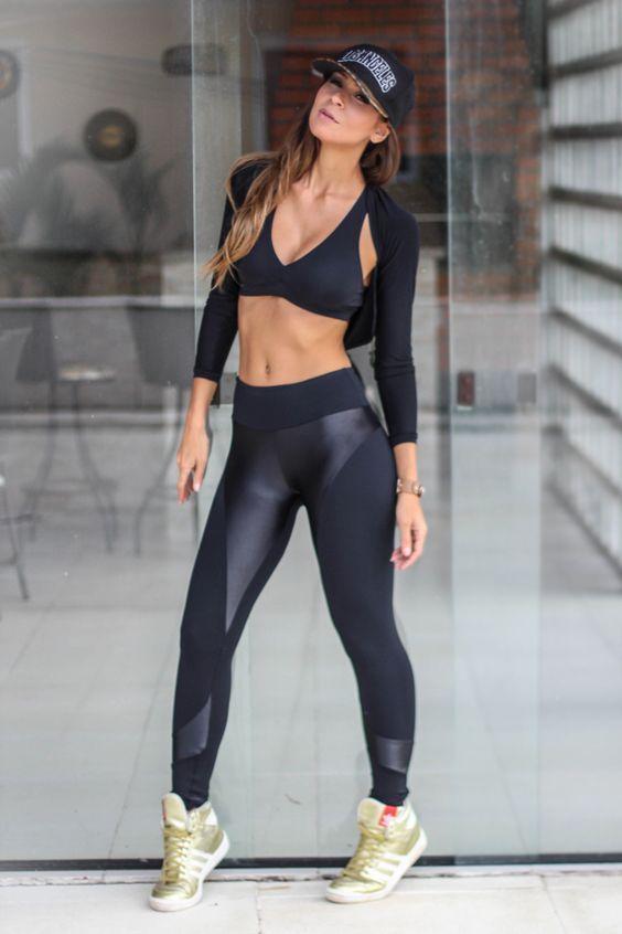 d73a707841 moda fitness feminina | Spor | Roupas de academia feminina, Looks ...