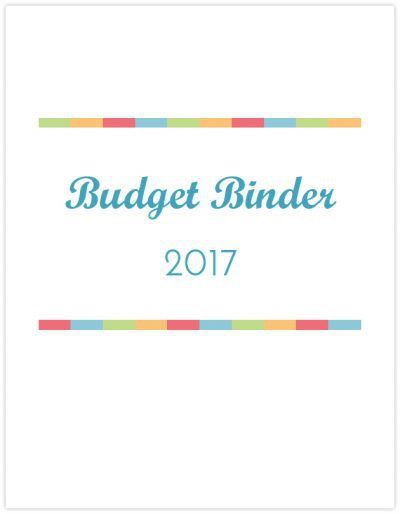 2017 Budget Binder Printable How To Organize Your Finances Binder - free download budget spreadsheet