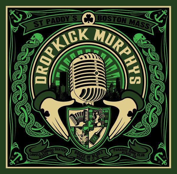 Gigposters Com Dropkick Murphys Music Artwork Rock Posters Poster Art