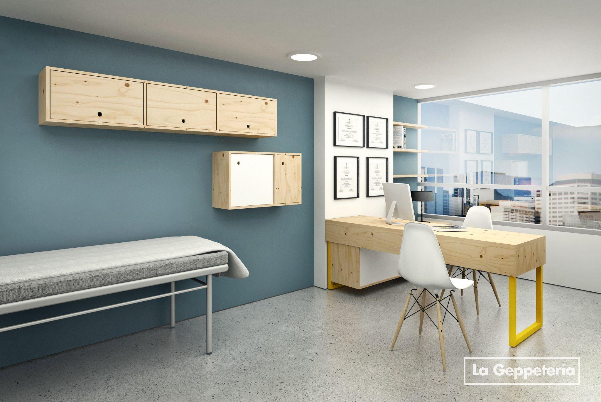 Consultorios m dicos portafolio consultorio medico for Despachos de diseno de interiores df