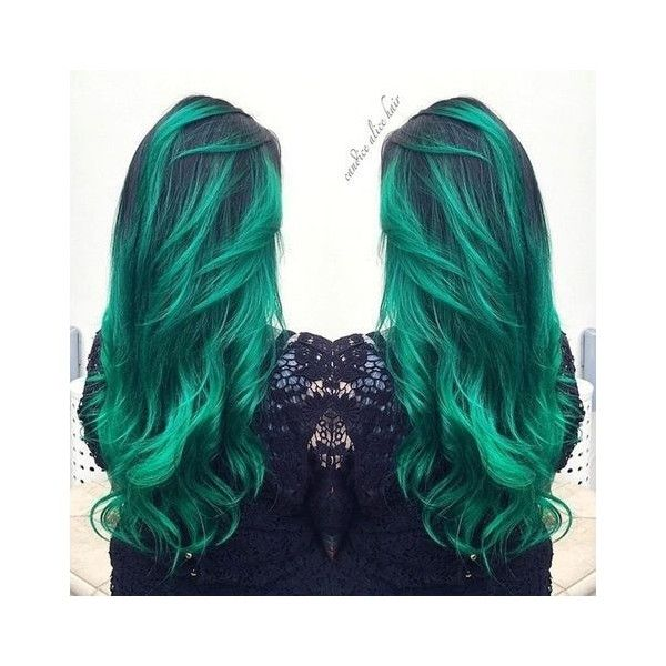 Dark Black Brown to Pastel Ombre Hair Color Trends 2015 ❤ liked on Polyvore featuring accessories, hair accessories and silver hair accessories