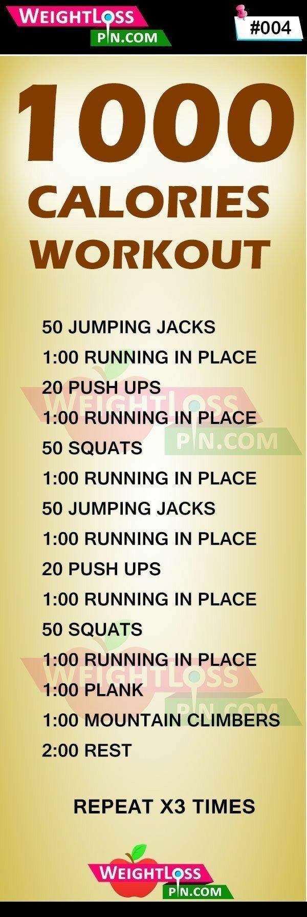 1000 calories workout routine: Workout plan to burn 1000 ...