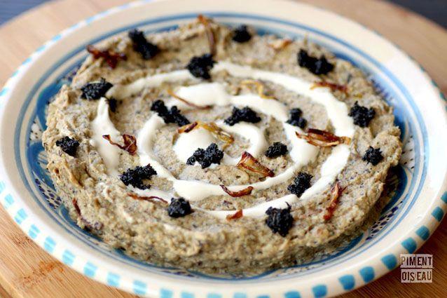Kashk Bademjan Purée Daubergine à Liranienne Recette Cuisine - Cuisine iranienne