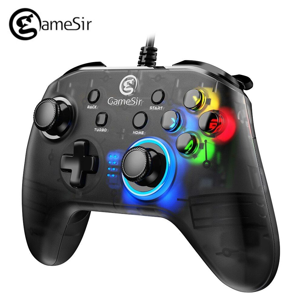 Gamesir T4w Usb Wired Controller Support Vibration Usb Wired Gaming Gamepad For Windows 7 8 9 10 Pc Android Tv Box Pc Gamer Usb Game Controller Best Pc Games