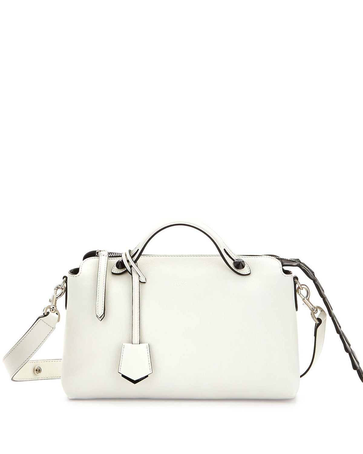 52c9883268b4b 2017 new Fendi By The Way Small Croc Satchel White on sale online ...