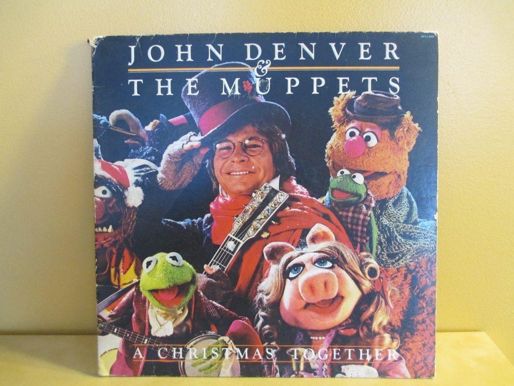 JD The Muppets Christmas Album John Denver t