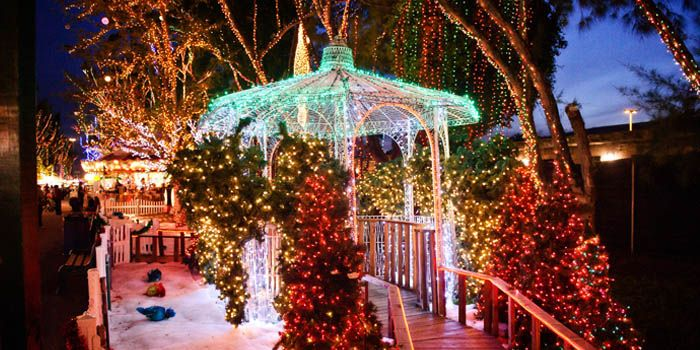 Christmas Theme Park.Miami Santa S Enchanted Forest World S Largest Christmas