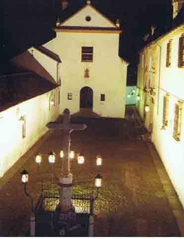 Córdoba. Plaza de Capuchinos el Cristo de los Faroles