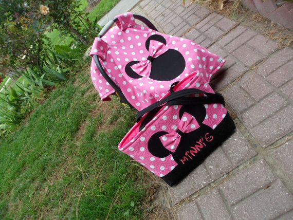 minnie mouse canopy and diaper bag set by ChiquitasBags on Etsy & minnie mouse canopy and diaper bag set by ChiquitasBags on Etsy ...