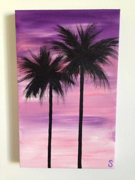 36 Artsy And Easy Canvas Painting Ideas Simple Canvas Paintings Acrylic Painting Canvas Art Painting